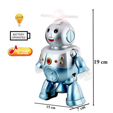 Dancing Robot With Light and Music