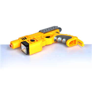 Laser Gun with Dart Board