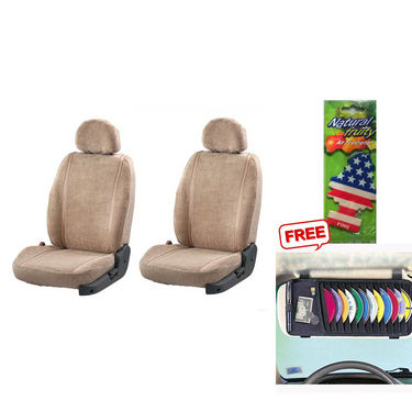 Latest Car Seat Cover for Maruti Suzuki 800 - Beige