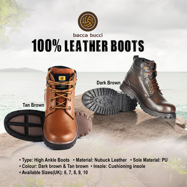 Bacca Bucci 100% Leather Boots