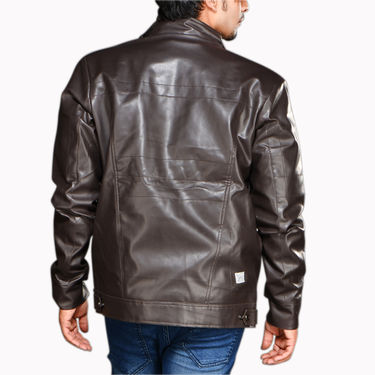 Leatherite Jacket & Boots for Men