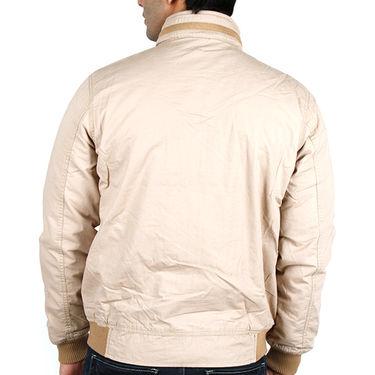 Lee Full Sleeves Cotton Jacket_Lee05 - Beige