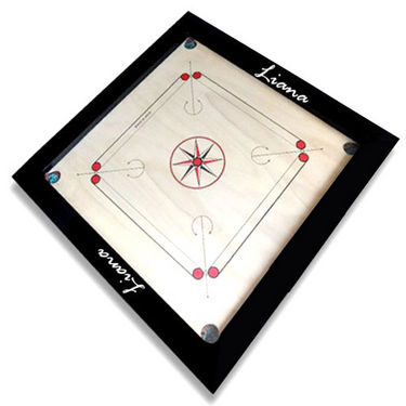 Liana Carrom Board (Water Resistant) 30 x 30 inch with 3 inch Border