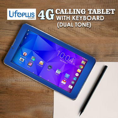 LifePLUS 4G Calling Tablet with Keyboard (Dual Tone)