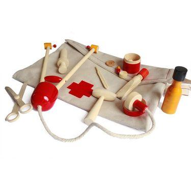 Handcrafted Little Doctor Bag Activity Set