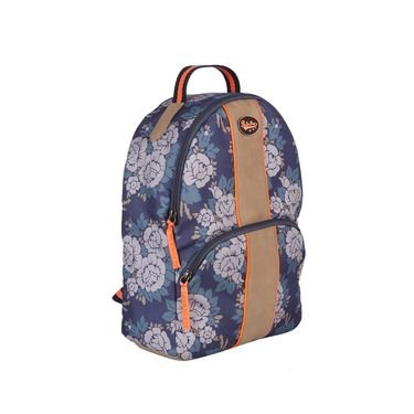 Be for Bag Canvas Backpack Blue -Lynette