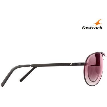 Fastrack Aviator Sunglasses For Unisex_M062br3 - Brown