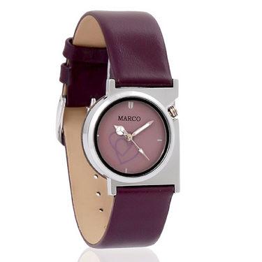 Marco MR-LR005 Wrist Watch - Mauve