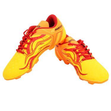 Mayor Yellow - Red Fiero Football Studs - 4