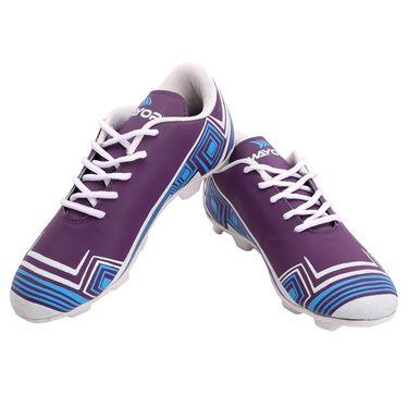 Mayor Purple - Green Casilla Football Studs - 10
