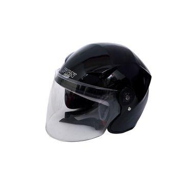 Mototrance Open Face Helmet with Clear Visor