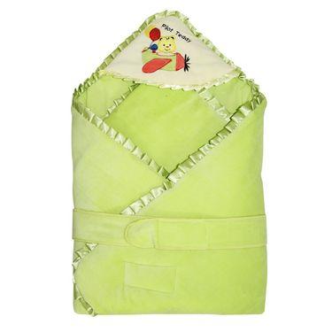 Wonderkids Green Pilot Teddy Carry Nest