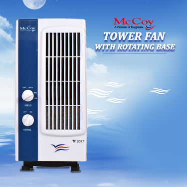 McCoy Tower Fan with Rotating Base