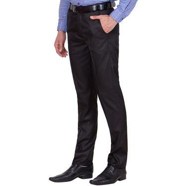 Tiger Grid Pack of 3 Cotton Formal Trouser For Men_Md047