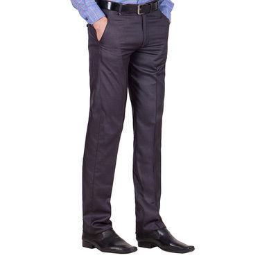 Tiger Grid Pack of 3 Cotton Formal Trouser For Men_Md050