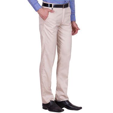 Tiger Grid Pack of 3 Cotton Formal Trouser For Men_Md057