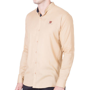 Cliths Cotton Shirts For Men_Md060 - Beige