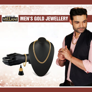Men's Gold Jewellery (MGJ6)
