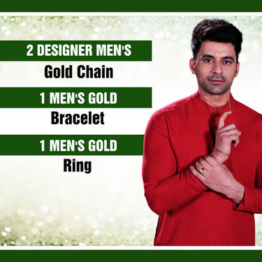 Men's Gold Jewellery (MGJ7)