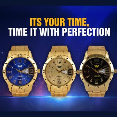 Men's Gold Watch (MGW3)