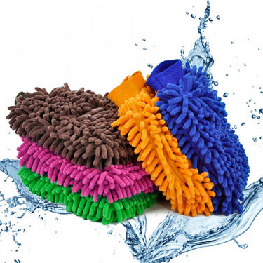 Microfiber Cleaning Glove for Cars - Pack of 2