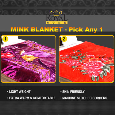 Mink Blanket - Pick Any 1