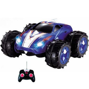 Mitashi Dash Rechargeable RC Multi Terrain 360 Degree Spin Monster Car