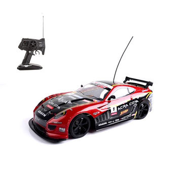 Mitashi Dash Rechargeable RC The Amazing Red & Black Drifter