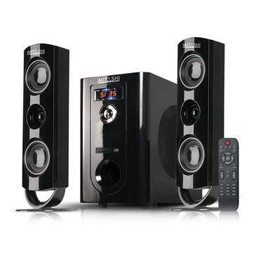 Mitashi HT 97 BT 2.1 Multimedia Speakers - Black