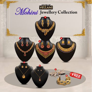 Mohini Jewellery Collection with 4 Assorted Freebies
