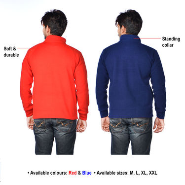 Mr. Tusker 2 Stretchable Jeans + American Indigo 2 Fleece Jackets