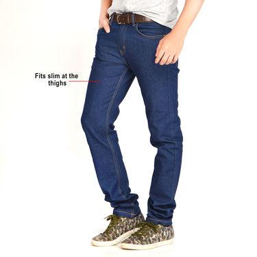 Mr. Tusker 2 Stretchable Jeans + American Indigo Reversible Jacket (Brown)