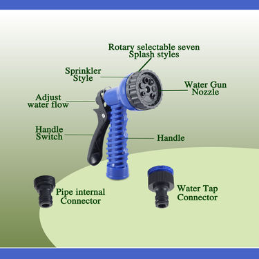 Multipurpose Expandable Water Spray Gun