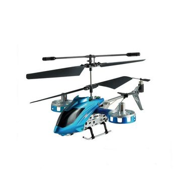Avatar 4 Channel Fighter Helicopter with Night Lights - Blue