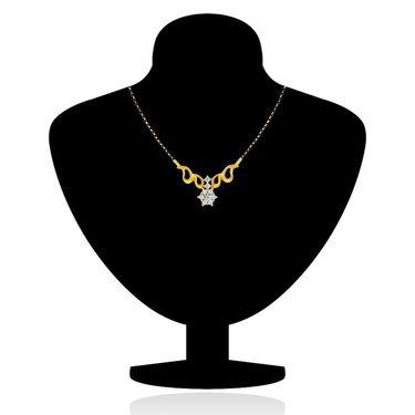 Mahi CZ Gold Plated Mangalsutra Set_Nl1101511g