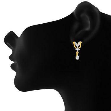 Mahi CZ Gold Plated Mangalsutra Set_Nl1101947g