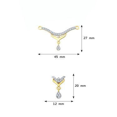 Mahi CZ Gold Plated Mangalsutra Set_Nl1106005g2