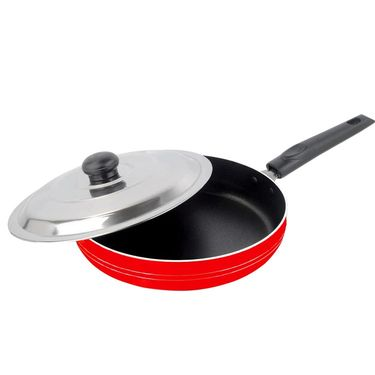 Nirlon Non-Stick Frypan With Lid-25 Cms_NR48017