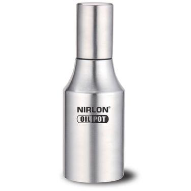 Nirlon Stainless Steel Oil Dispenser 1000 ml_NR48660