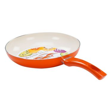 Nirlon  4 Layer Ceramic Induction Fry Pan With Lid 24 cm_NR48817