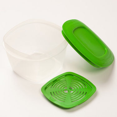 Combo of Cutting Edge Veggie Fresh 7 Containers Set + 7 Freshness Trays