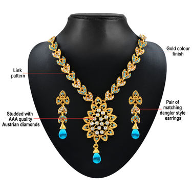 Navya 5 Grand Necklace Sets Collection + Free Pack of 3 Pendant Set