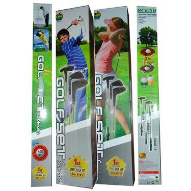 New Kids Golf Set with 3 Steel Clubs - Senior