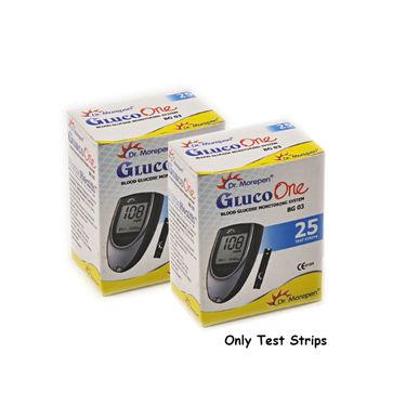 Dr. Morepen BG 03 Gluco One Test Strips (50/Pack)