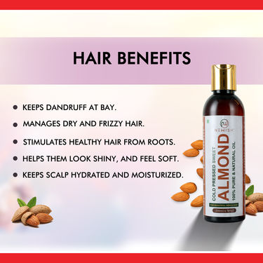 Newish Almond Oil for Skin And Hair