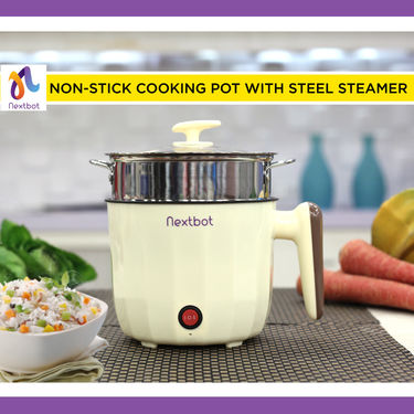 Multipurpose Cooking Pot + Steel Steamer