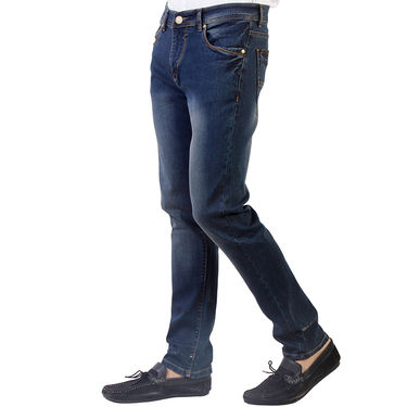 Branded Slim Fit Cotton Jeans_Nto2 - Grenish Blue