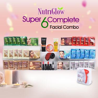 Nutriglow Super 6 Complete Facial Combo
