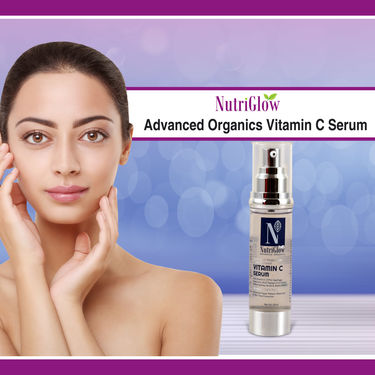 Nutriglow Advanced Organics Vitamin C Serum
