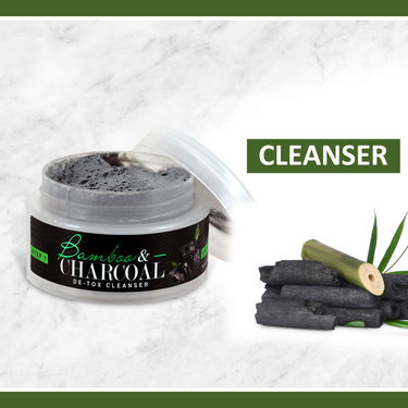 Nutriglow Bamboo & Charcoal Facial Kit